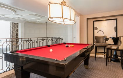 Pool table | Julius Executive Duplex | Caesars Palace