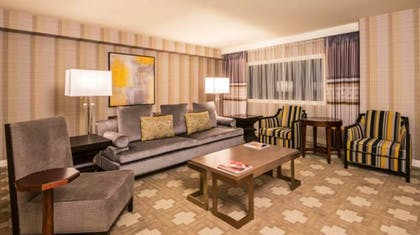 Living room | Julius Executive Suite | 2 Queens + 1 King | Caesars Palace