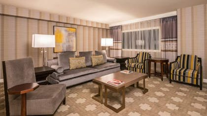 Living area | Julius Executive Suite | 1 King | Caesars Palace