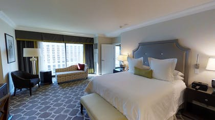 Bedroom | Octavius Executive Suite + 2 Queens | Caesars Palace