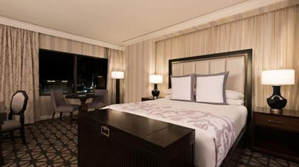 King bed | Octavius Premium Suite, 1 King + 2 Queens | Caesars Palace