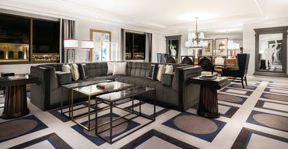 Living Room | Palace Premium Suite + 2 Queens  | Caesars Palace