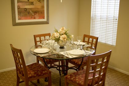 Dining Table | Two Bedroom Suite | Desert Paradise Resort