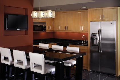 Kitchen | 1 Bedroom King Suite & Sofabed | Elara by Hilton Grand Vacations