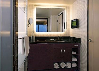 Bathroom | 2 Bedroom 2 King Suite with Sofabed | Elara by Hilton Grand Vacations