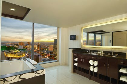 Bathroom | Corner 2 Bedroom 2 King Suite with Sofabed | Elara by Hilton Grand Vacations