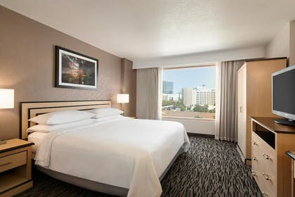 bedroom | 2 Room Suite-1 King Bed | Embassy Suites by Hilton Convention Center Las Vegas