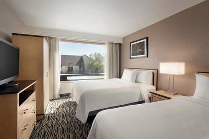bedroom | 2 Room Suite-2 Queens Beds | Embassy Suites by Hilton Convention Center Las Vegas