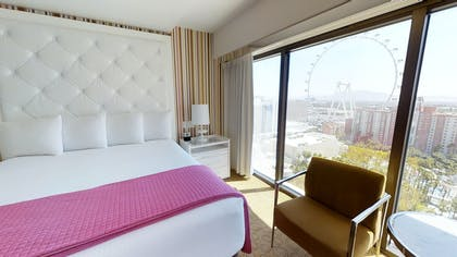 Bedroom | Cosmopolitan Suite | Flamingo Las Vegas
