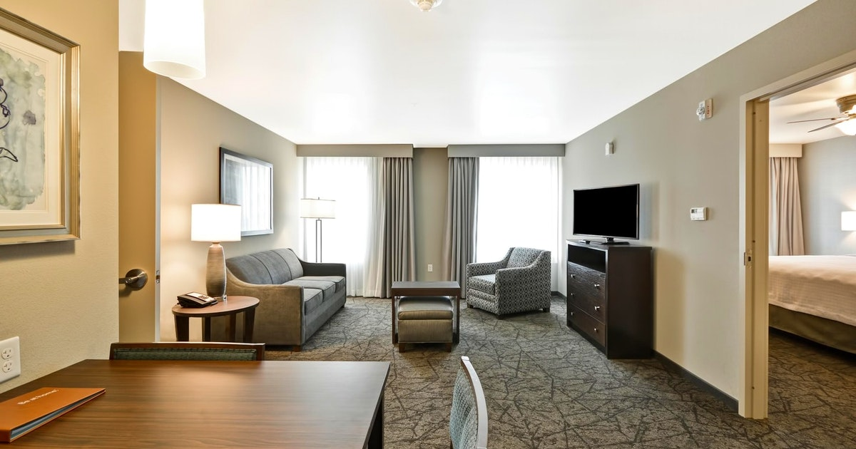 2 Queen Beds 1 Bedroom Suite Nonsmoking At Homewood Suites By Hilton Las Vegas City Center