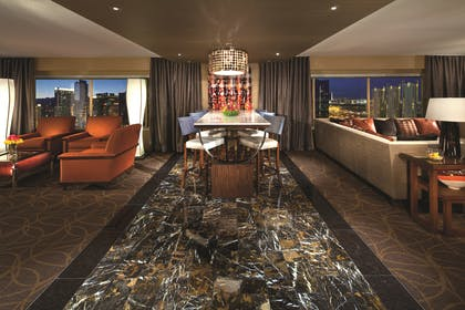 Two Bedroom Marquee Living Area | Two Bedroom Marquee Suite | MGM Grand Hotel & Casino