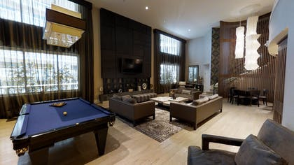Pool Table | Nobu Penthouse + Double Queens Room | Nobu Hotel at Caesars Palace