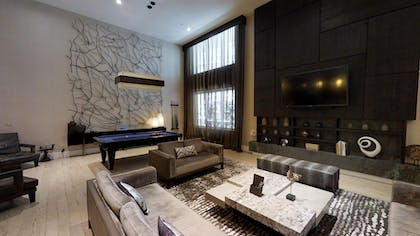 Living Area 2 | Nobu Penthouse + King Room + Double Queens Room | Nobu Hotel at Caesars Palace
