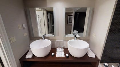 Bathroom | Sake Suite + Luxury Queens + Luxury King | Nobu Hotel at Caesars Palace