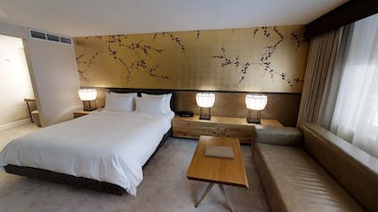 Bedroom 2 | Sake Suite + Luxury Queens + Luxury King | Nobu Hotel at Caesars Palace
