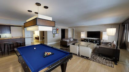 Pool Table | Sake Suite + Luxury Queens + Luxury King | Nobu Hotel at Caesars Palace
