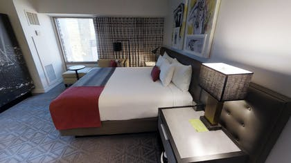 Bedroom | Ultra Apex Suite | Planet Hollywood Resort & Casino