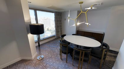 Dining Area | Ultra Apex Suite + 1 King | Planet Hollywood Resort & Casino