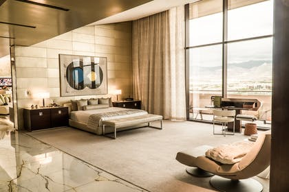 Bedroom | Canyon Suite | Red Rock Casino, Resort and Spa