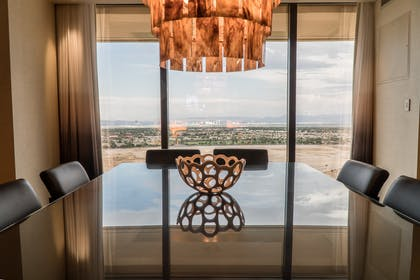 Dining area | One Bedroom Presidential Suite + Deluxe Room - Two Queen Beds | Red Rock Casino, Resort and Spa