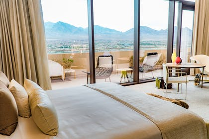 Bedroom views | Top of the Rock Suite | Red Rock Casino, Resort and Spa