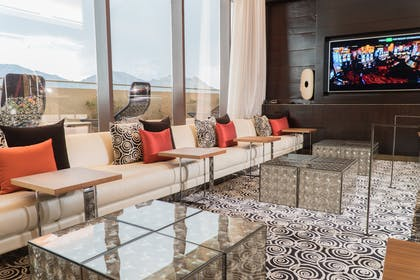 Living area | Top of the Rock Suite | Red Rock Casino, Resort and Spa