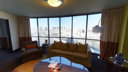 Living Room 3 | Masquerade Suite + 1 King | Rio All-Suite Hotel & Casino