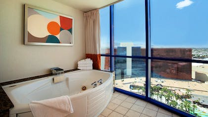 Bathroom | Masquerade Suite | Strip View | 1 King + 1 King | Rio All-Suite Hotel & Casino