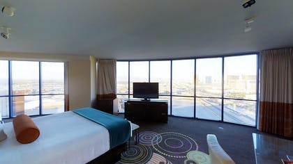 King Bedroom | Masquerade Suite | Rio All-Suite Hotel & Casino