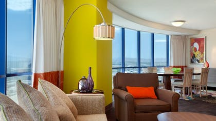 Living Room 3 | Masquerade Suite | Rio All-Suite Hotel & Casino