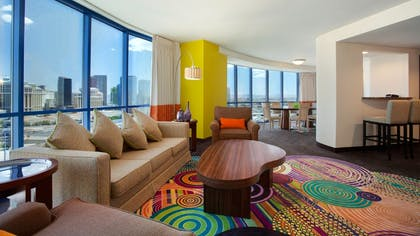 Living Room | Masquerade Suite | Rio All-Suite Hotel & Casino