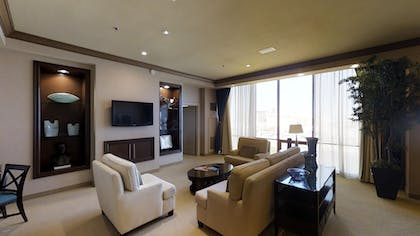 Living Room 2 | Super Suite + 1 King | Rio All-Suite Hotel & Casino