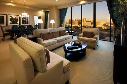 Living Room | Super Suite + 1 King | Rio All-Suite Hotel & Casino