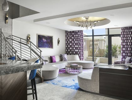 Living Area | Bungalow | The Cosmopolitan of Las Vegas