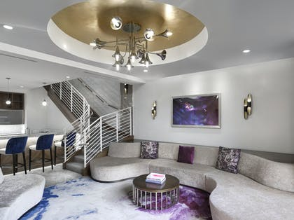 Living room | Bungalow | The Cosmopolitan of Las Vegas
