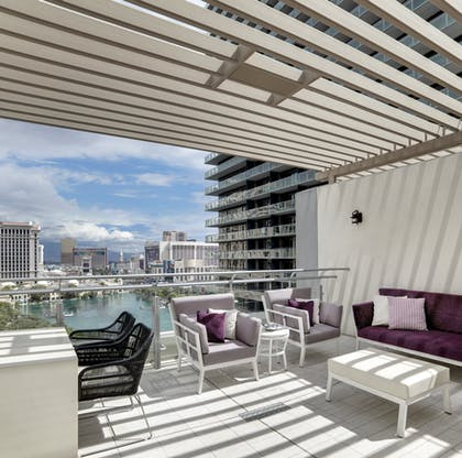 Patio | Bungalow | The Cosmopolitan of Las Vegas