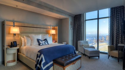 Master bedroom | Two Bedroom City Suite | The Cosmopolitan of Las Vegas