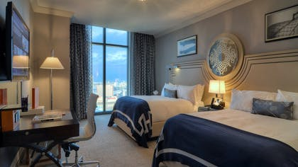 Bedroom | Two Bedroom City Suite | The Cosmopolitan of Las Vegas