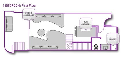 Floorplan 1 | Bungalow | The Cosmopolitan of Las Vegas