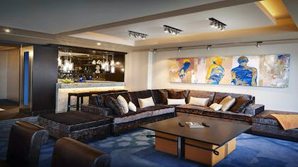Living room | Reception Suite  | The Cosmopolitan of Las Vegas