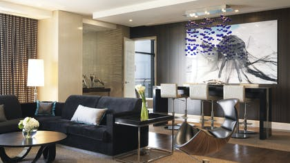 Living area | Three Bedroom Chelsea Penthouse | The Cosmopolitan of Las Vegas