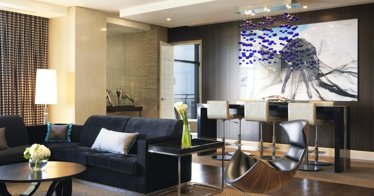 Three Bedroom Chelsea Penthouse At The Cosmopolitan Of Las Vegas Suiteness More Bedrooms At