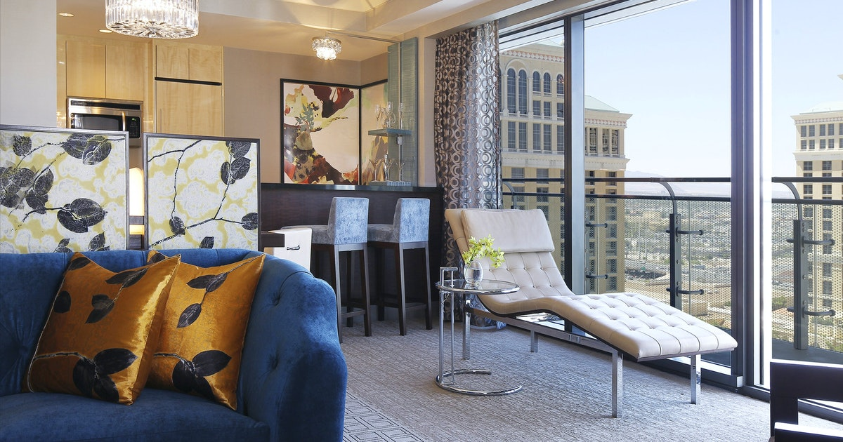 Wraparound Terrace Suite Terrace One Bedroom At The Cosmopolitan Of Las Vegas Suiteness