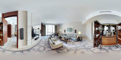 Suite Area | Wraparound Terrace Suite + Terrace One Bedroom | The Cosmopolitan of Las Vegas