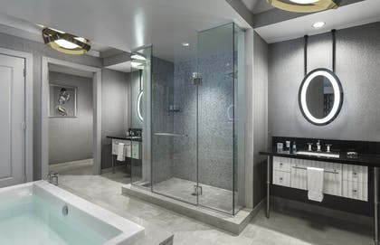 Bathroom | Wraparound Terrace Suite + Terrace One Bedroom | The Cosmopolitan of Las Vegas