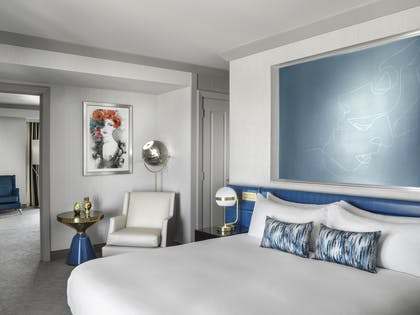 Bedroom | Wraparound Terrace Suite + Terrace One Bedroom | The Cosmopolitan of Las Vegas
