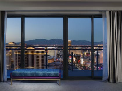 Fountain View | Wraparound Terrace Suite + Terrace One Bedroom | The Cosmopolitan of Las Vegas