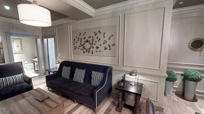 Living Area 2 | Parlour Suite | Strip View | The Cromwell