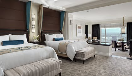Beds 2 | Bella Suite | The Palazzo Resort Hotel & Casino