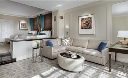 living-area-1. | Bella View Suite | The Palazzo Resort Hotel & Casino
